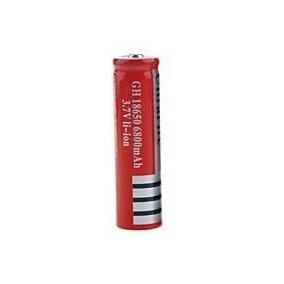 Bateria Recarregável Lanterna Tática 6800mah Wzs 18650 3,7v