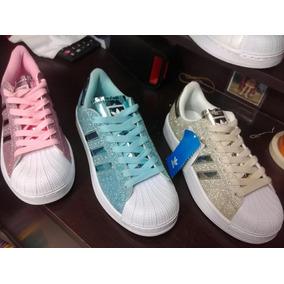 big sale a88b4 e6023 Zapatillas adidas Original Superstar Envio Gratis! Purpurina