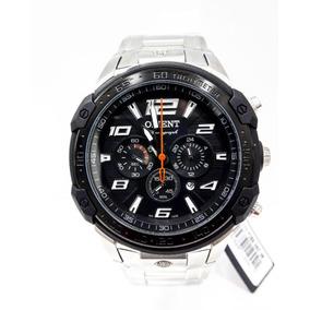 Relógio Orient Masculino Prata Cronógrafo Mbssc172