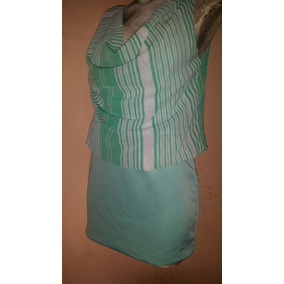 Hermoso Vestido Corto Verde