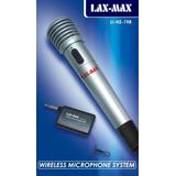 Micrófono Inalámbrico Y Alámbrico Lax-max Li-198 Karaoke