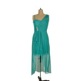 Vestido Corto Largo Mujer