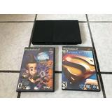 Consola Play Station 2 Slim 2 Juegos Superman