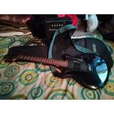 Guitarra Eléctrica Ibanez Gio Con Funda Y Amplificador.