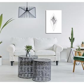 Cuadros Modernos En 3d Con Figuras Geometricas En Relieve Vinilos