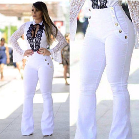 2018 Calça Jeans Estilo Pit Bull **** Branca