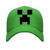 Gorra Tipo Trucker O Malla Minecraft Pixel Creeper 3d95867deac
