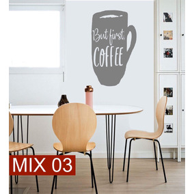 Vinilos Decorativos Cafe - Decoración para el Hogar en Mercado Libre ...