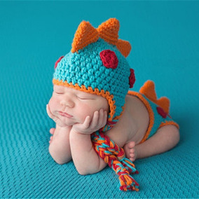 Ropa Sesión Fotos Recién Nacido Bebes Disfraz Dinosaurio
