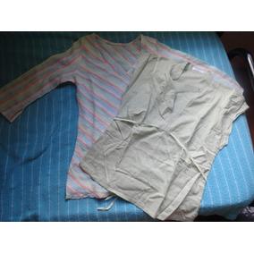 Lote Camisas Blusas Portsaid Talle S Excelentes Como Nuevas