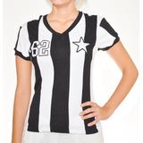 Camisa Retrô Botafogo 1962 Garrincha Unisex - Camisas de Times de ... 3f4652232500e