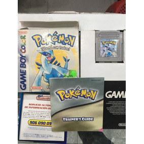 Pokemon Silver En Español Boy Color Nintendo