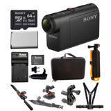 Hdras50/b De Sony Full Hd Acción Cam (negro) Y Un Kit De Acc
