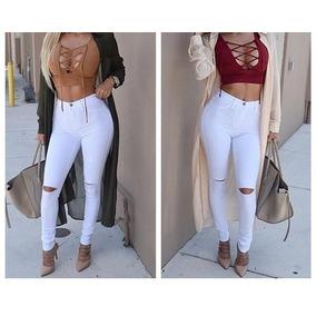 266da4560b Pantalones Dama Jean Blanco - Pantalones de Jean en Cerro Largo para ...
