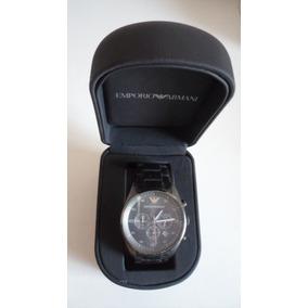 Relógio Emporio Armani Cronógrafo 2010 Original N Y · R  999 99. 12x R  83 sem  juros f7de640c4f