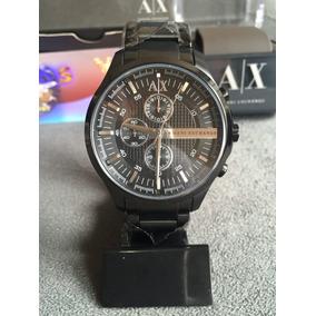 Relogio Armani Exchange Ax2138 Preto 100% Original Completo b9e2e571e3
