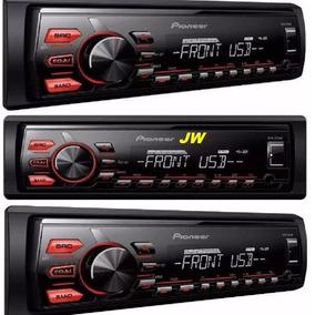 Stereo Pioneer 85 Mvh-085ub Usb Aux + Garantia Oficial.