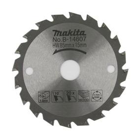 Hoja De Sierra 85mm X 15mm X 20d Makita