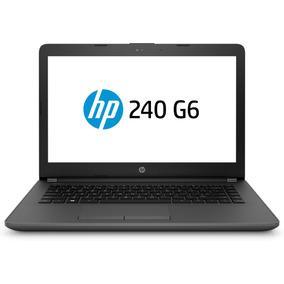 Notebook Hp G6 240 Intel N3060 4gb 500gb Dvdrw Bt Hdmi Led