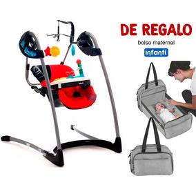 Columpio P/bebe Rojo Infanti + Regalo