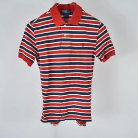 Polo By Ralph Lauren Polo Rojo Con Azul Marino S Msrp $720