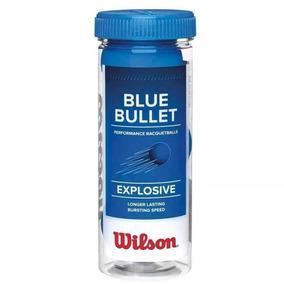 Tubo X3 Pelotas De Frontón Wilson Blue Bullet Explosive