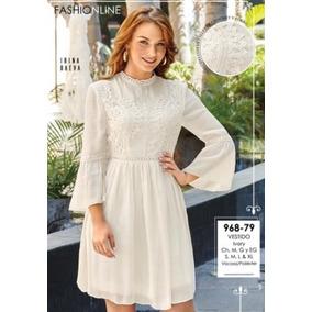 Vestido Blanco Cklass 2018 Vestidos Largos