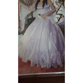 Vestido De 15 Años Largo Color Lila