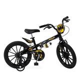 Bicicleta Aro 16 Menino Disney Batman Rodinhas Bandeirante 861e2d54d5b