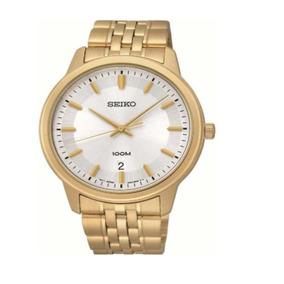 Reloj Seiko Sur034 Hombre Dorado Sumergible Acero Inoxidable