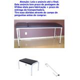 Kit 9 Estetica Maca Exame Suporte Papel Escada Massage Depil