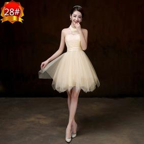 Vestido Importado Fiesta, Civil, 15 Años Feni Qilaixing
