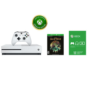 Xbox One S 1tb + Controle + Sea Of Thieves + Live 12 Meses
