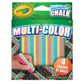 Tizas Lavables Crayolax5 Unidadesmulti Color