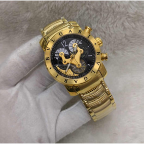 e11cffa13c2 Relógios Automáticos Preto - Relógio Bvlgari Masculino no Mercado ...