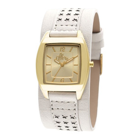 Relógio Feminino Allora Flor Da Pele Al2035ep 2b Dourado a3b5893564