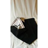 Pantalon De Vestir Negro Marca Marco Daltieri