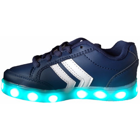 Zapatillas Con Luces Recargable Usb 11luces Selector(23al33)