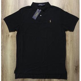Ralph Lauren Camisa De Malha Gola Redonda Na Embalagem ... 81933195b5e