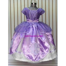 Disfraz Vestido Princesa Sofia De Lujo Elsa
