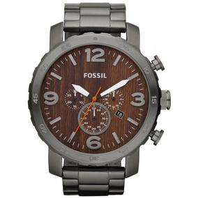 51ce1c7b72b50 Z Rel%c3%b3gio Fossil Nate Silicone Chronograph Jr1428 - Relógios no ...