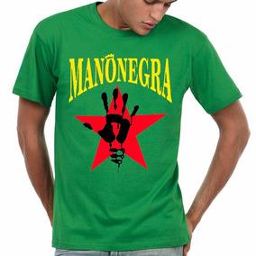 Remera Manu Chao Mano Negra Excelente Calidad Y Diseños!