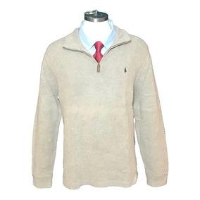 Playera Tipo Sweater Polo Ralph Lauren Original Beige Xl