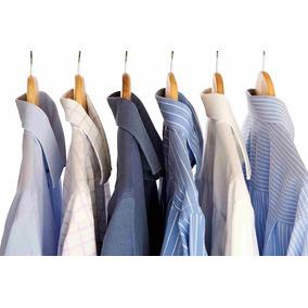 01488ea7af Lote 25 Camisas Sociais Masculinas Usadas Roupas Masculinas