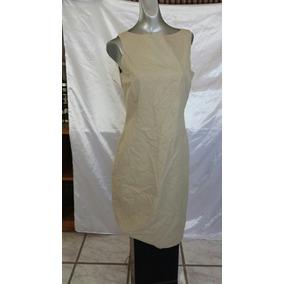 Vestido Para Dama Luz Claiborne Beige Talla 38 - 23123