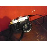 Camara De Fotos Antigua Yashica Tl Electro Funcionando