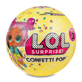 Mini Boneca Surpresa - Lol - Confetti Pop - Série 3 - Candi