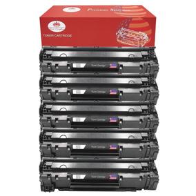 Combo 5 Pack Cb436 Cb436a 36a Cartucho De Toner Para Hp Lase