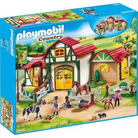 Playmobil Fazenda De Cavalos Com Cercado Sunny 6926