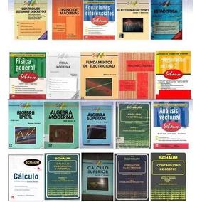 Schaum Calculo Algebra Quimica Matematica Fisica Geomtria